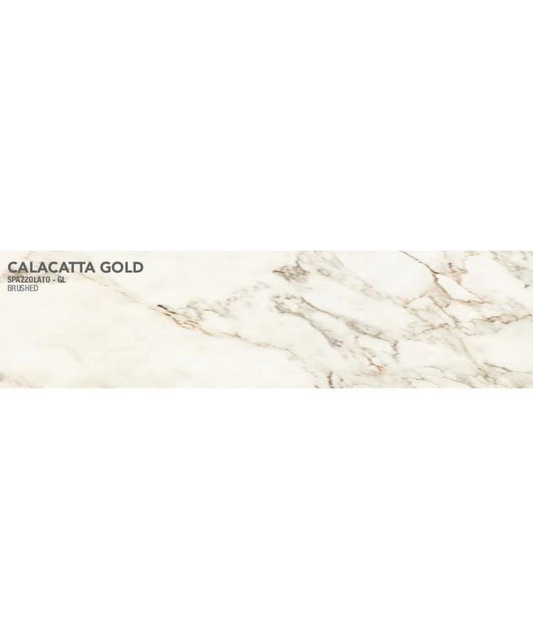 Gresie Calacatta Gold Lucios Periat 20x120 cm