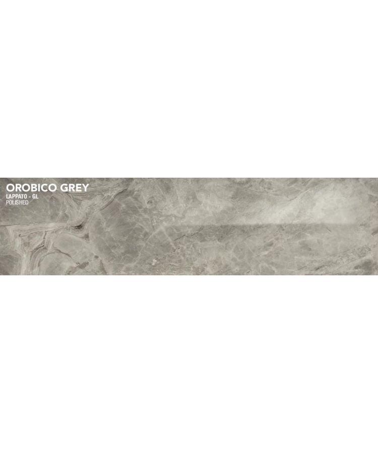 Gresie Orobico Grey Lucios 20x120 cm