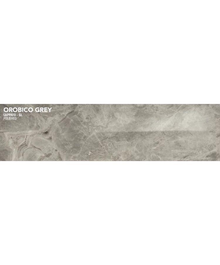 Gresie Orobico Grey Lucios 20x160 cm