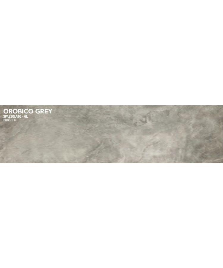 Gresie Orobico Grey Lucios Periat 20x120 cm