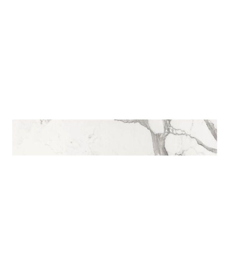 Gresie Statuario Lux Mat 20x160 cm