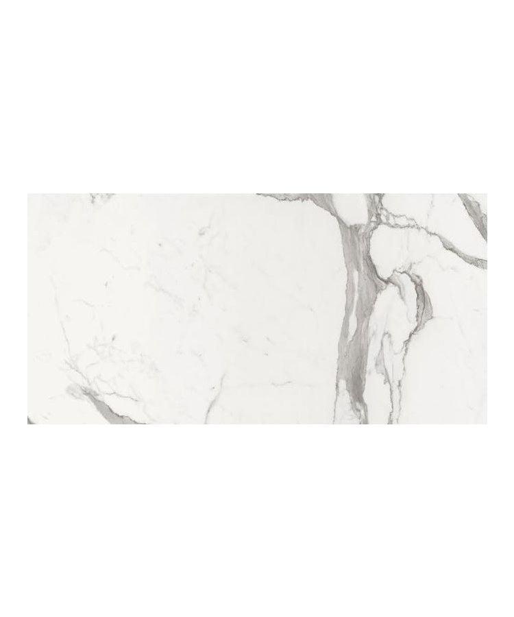 Gresie Statuario Lux Lucios Satinat 60x120 cm