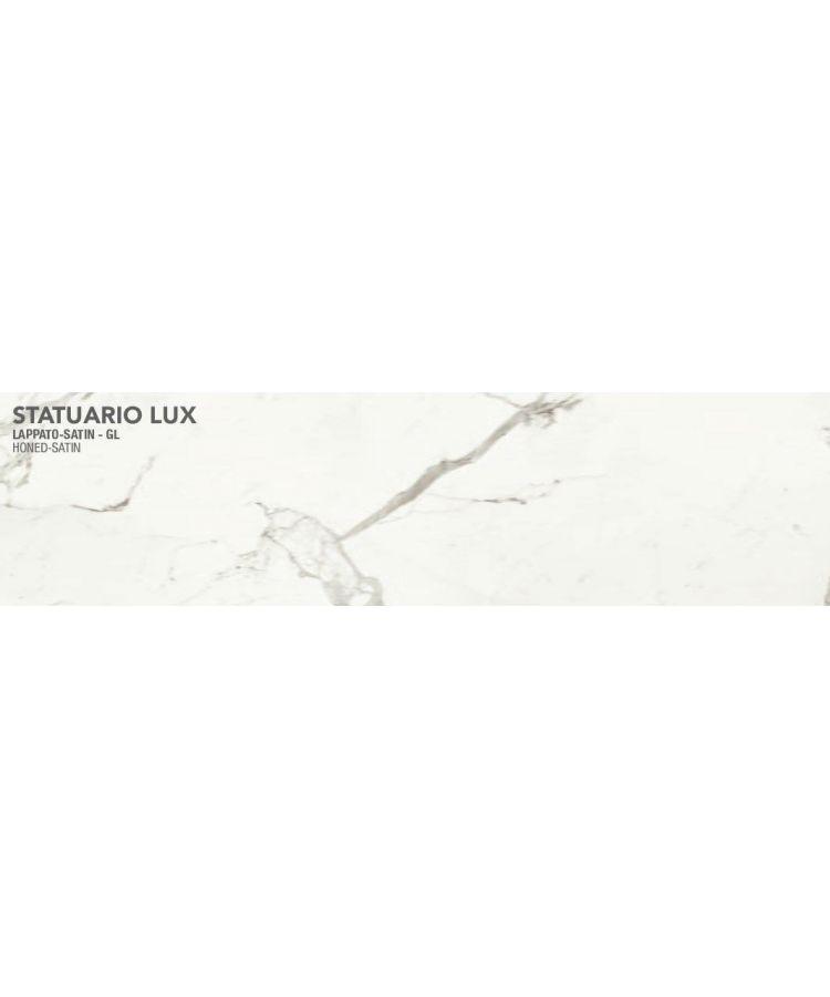 Gresie Statuario Lux lucios satinat 20x160 cm