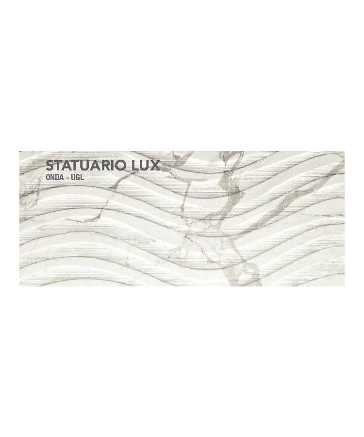 Gresie Statuario Lux onda 60x120 cm