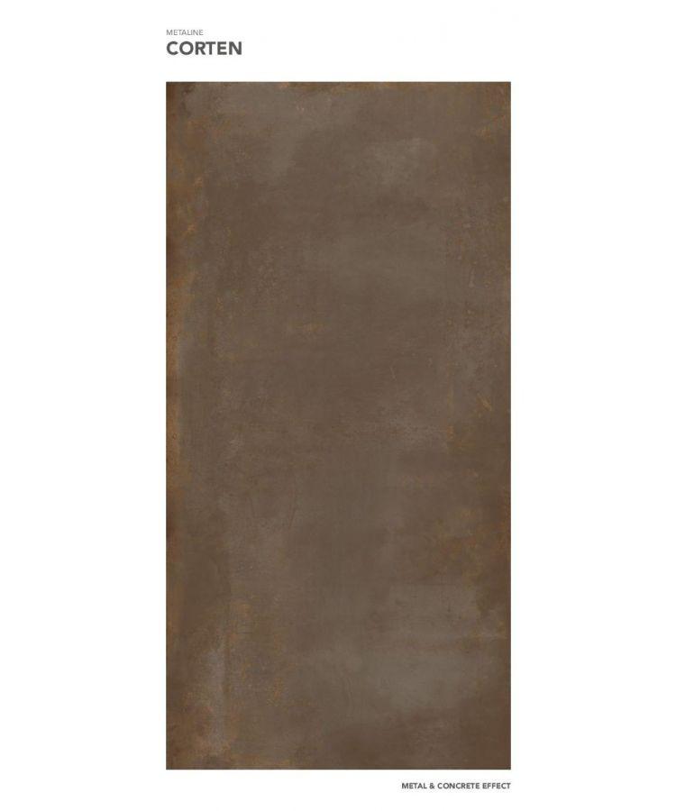 Gresie Metaline Corten mat 160x320x0,6 cm