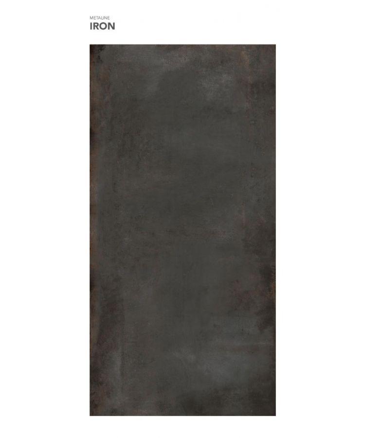 Gresie Metaline Iron mat 120x260x0,6 cm