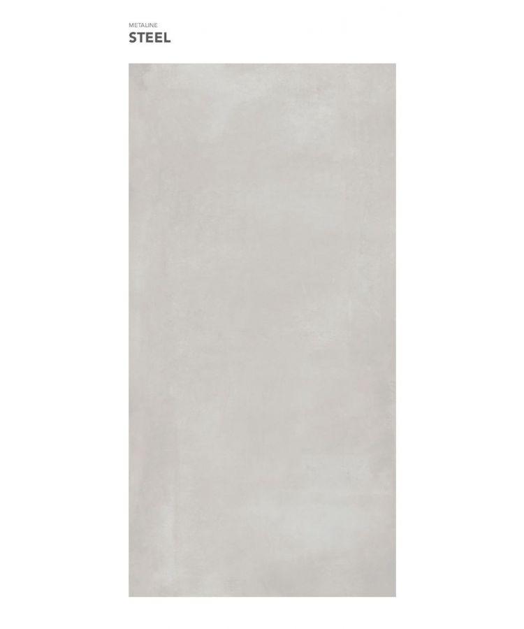Gresie Metaline Steel mat 120x260x0,6 cm