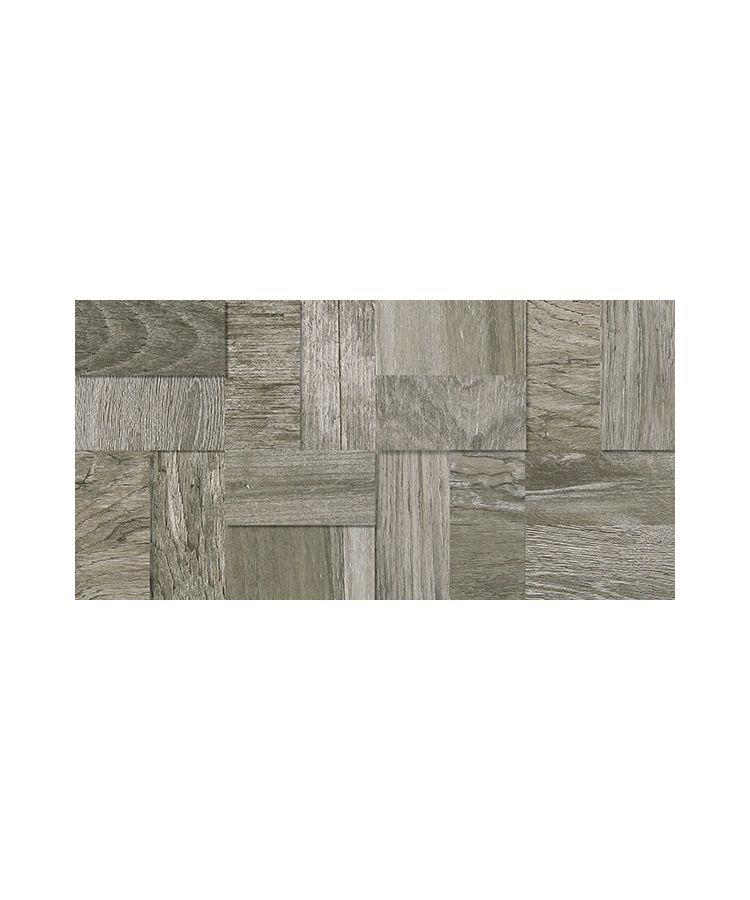 Mozaic 3D Saloon SA15 Dark Grey 20x40 cm