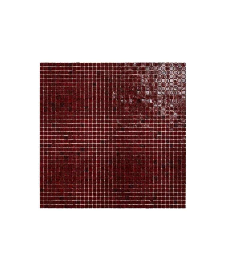 Mozaic Sticla Fenix Blood 1 15x15 pe plasa 30x30