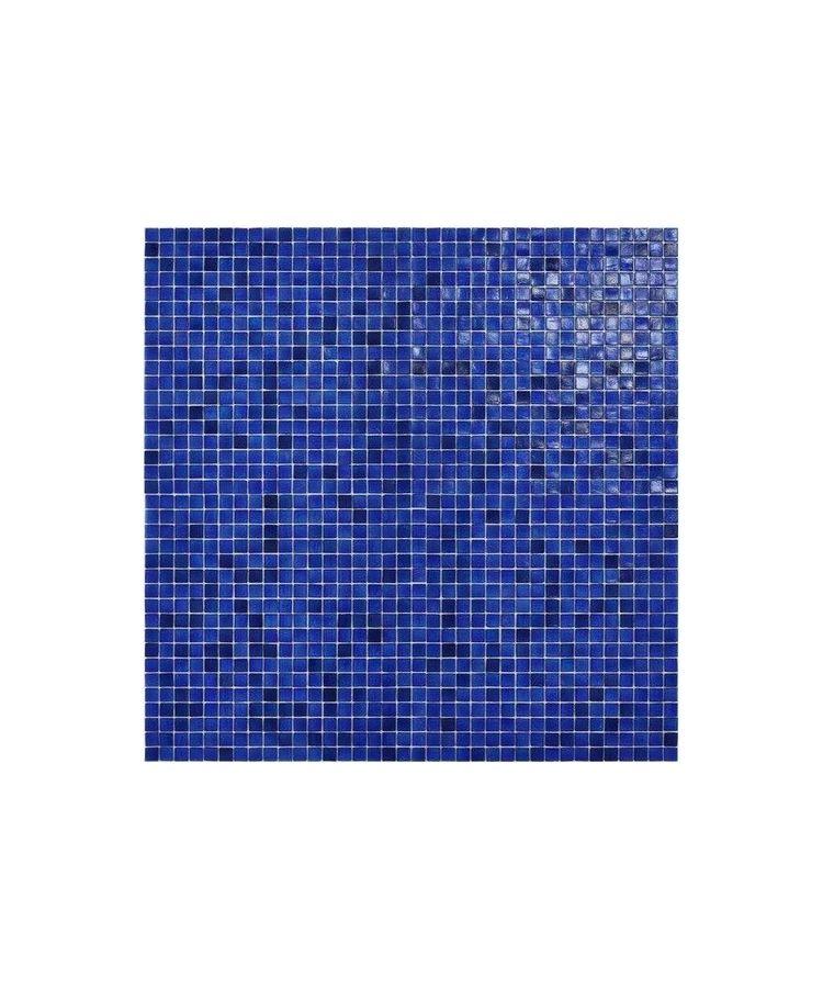 Mozaic Sticla Fenix Blue Night 15x15 pe plasa 30x30