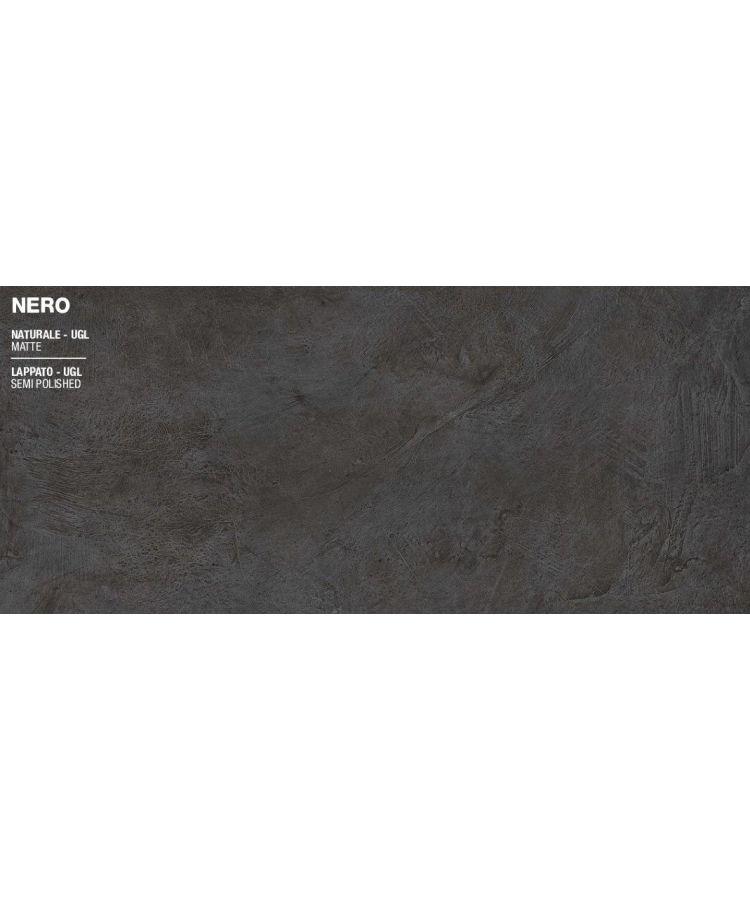 Gresie Spatula Nero Mat