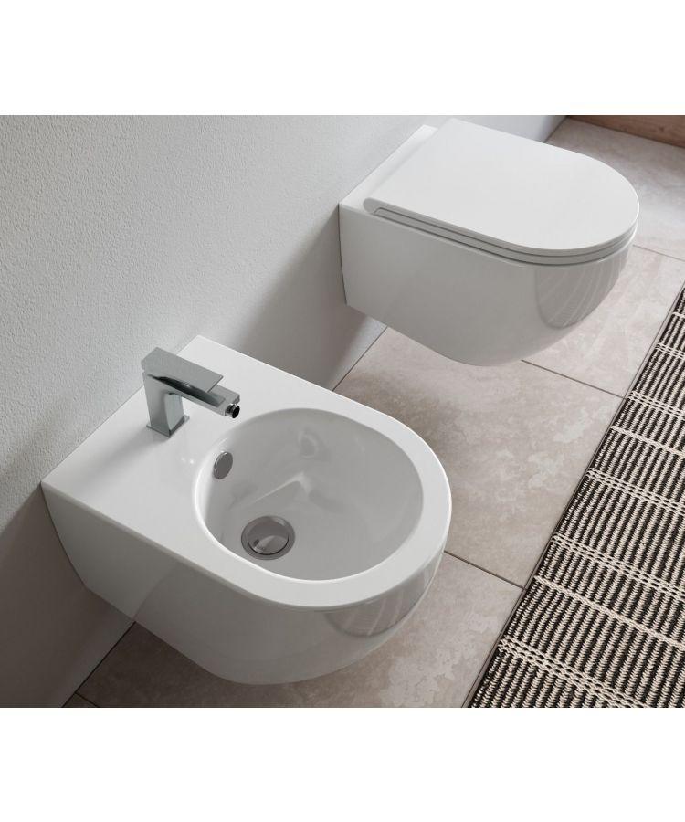 Set Vas WC si Bide Suspendat Hidra Tour