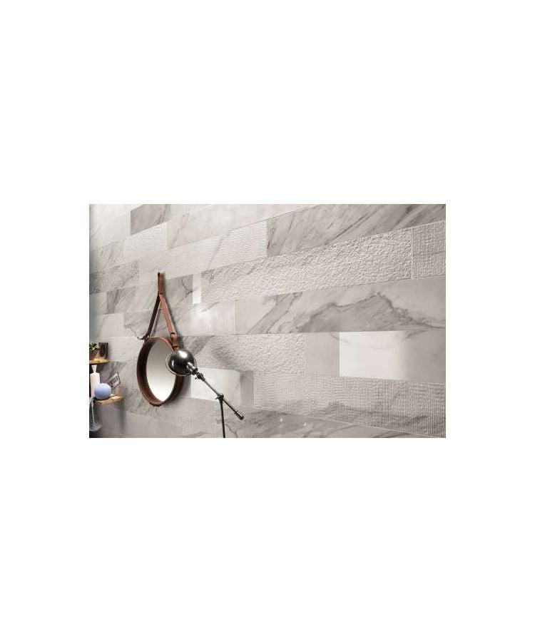 Gresie Marble Experience Orobico Grey Listello Mix 20x120