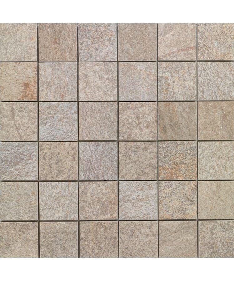 Mozaic pe plasa Stone D Mosaico A Quarzite Di Barge 30x30 cm