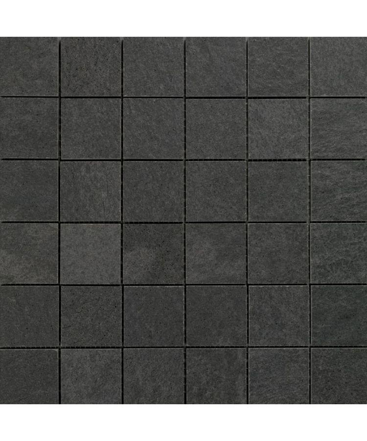 Mozaic pe plasa Stone D Mosaico A Quarzite Grafite 30x30 cm