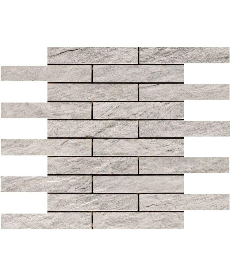 Mozaic pe plasa Stone D Mosaico A Quarzite Multicolor 30x30 cm
