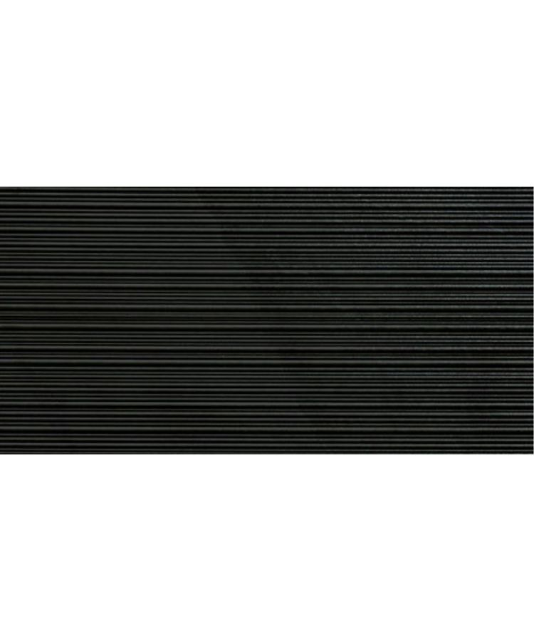 Faianta Shale Dark Ribbed Mat 60x120 cm