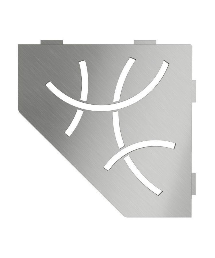 Raft de colt Schluter Shelf E S2 Curve 19.5x19.5 cm