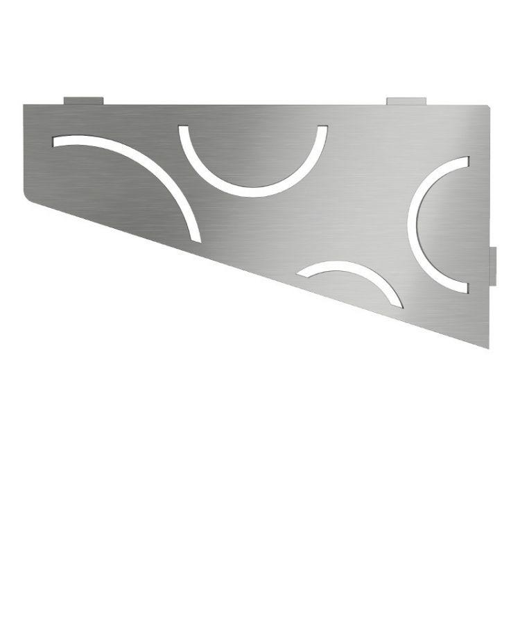 Raft de colt Schluter Shelf E S3 Curve 29.5x15.4 cm