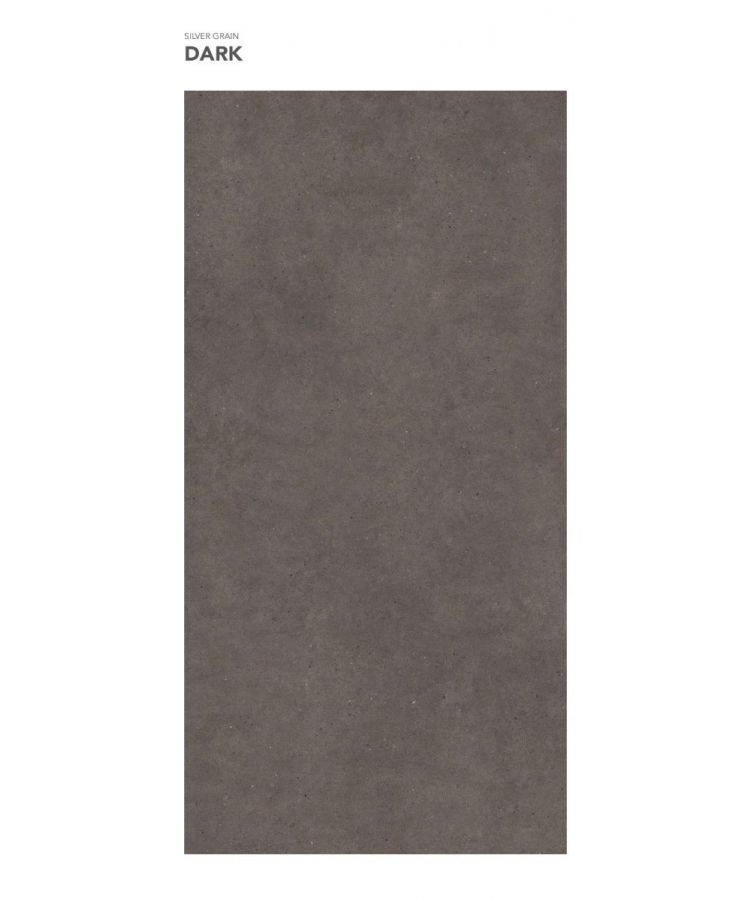 Gresie Silver Grain Dark mat 120x260x0,6 cm