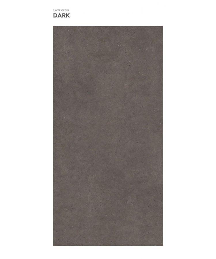 Gresie Silver Grain Dark mat 160x320x0,6 cm