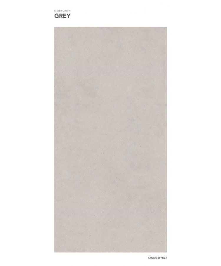 Gresie Silver Grain Grey mat 120x260x0,6 cm