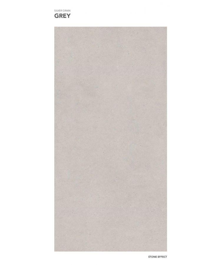 Gresie Silver Grain Grey mat 160x320x0,6 cm