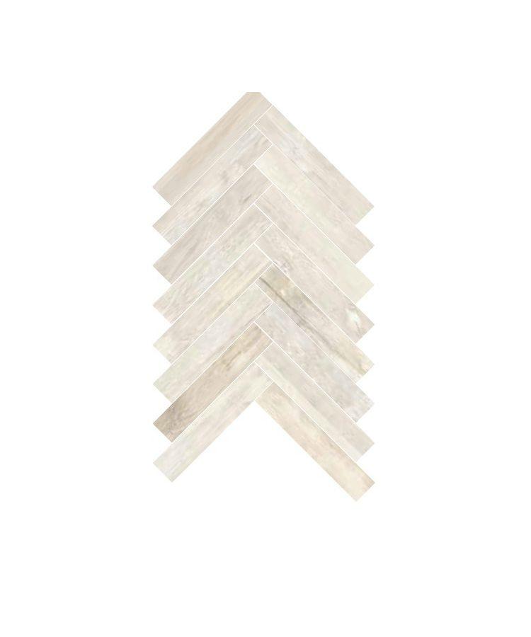 Gresie Spina Classica Vignoni Wood Bianco 7.5x40