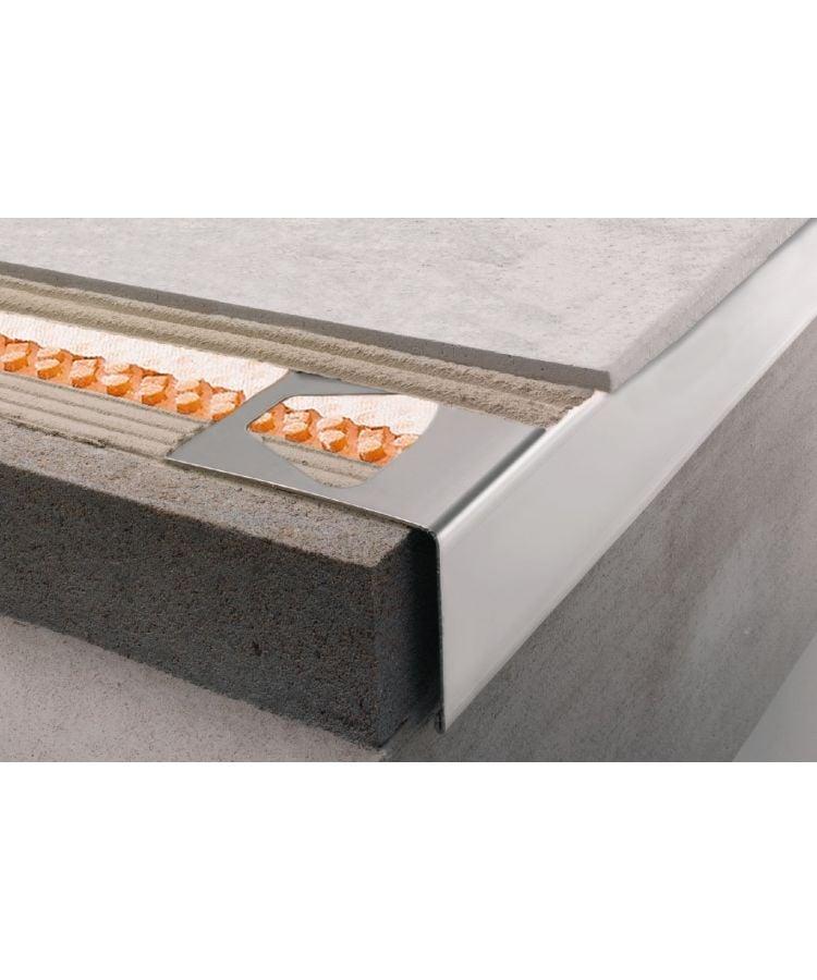 Profil Picurator Balcon/Terasa Schluter RW Bara 15mm 2.5 ml