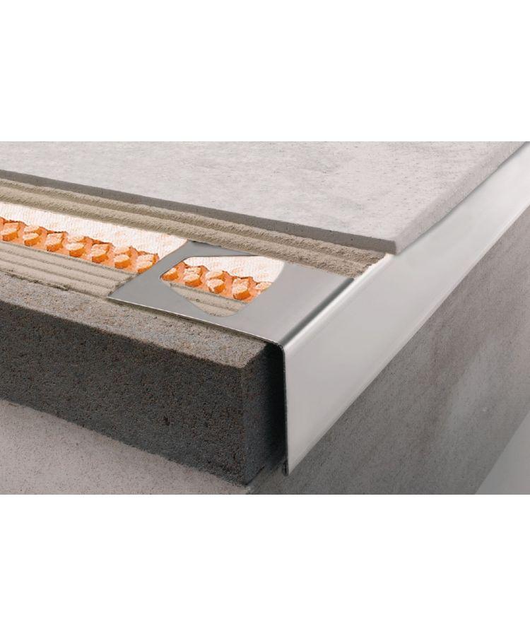 Profil Picurator Balcon/Terasa Schluter RW Bara 40 mm 2.5 ml