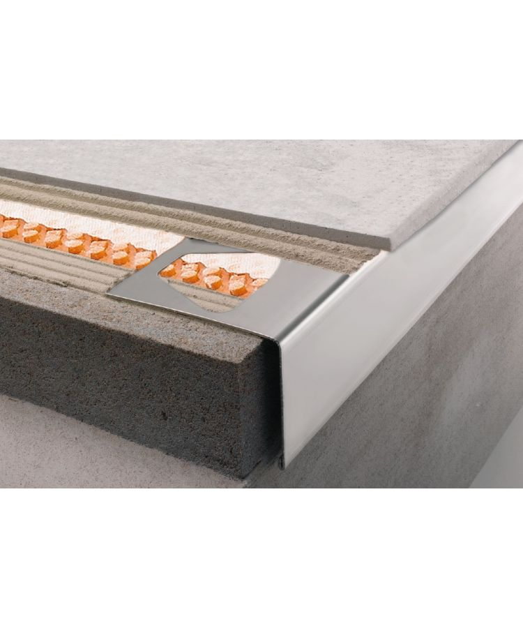 Profil Picurator Balcon/Terasa Schluter RW Bara 75 mm 2.5 ml