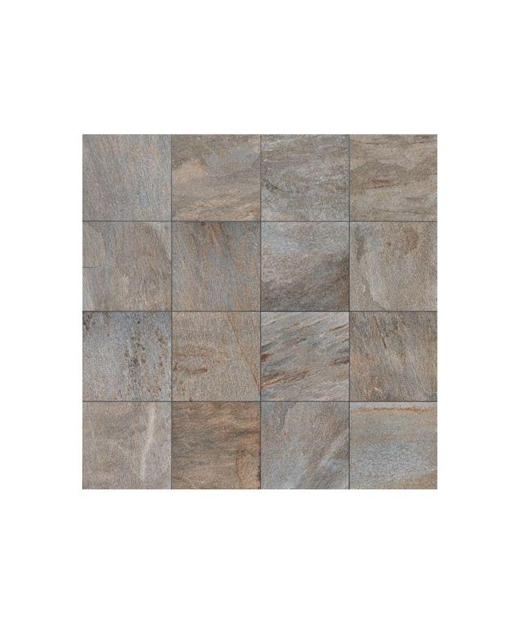Gresie Stone D Quarzite Di Barge 60x60 cm   Imagine compusa din placi de 60x60