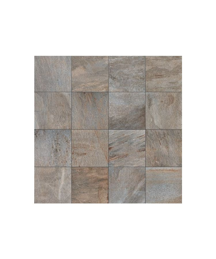 Gresie Stone D Quarzite Di Barge 15x90 cm   Imagine compusa din placi de 60x60