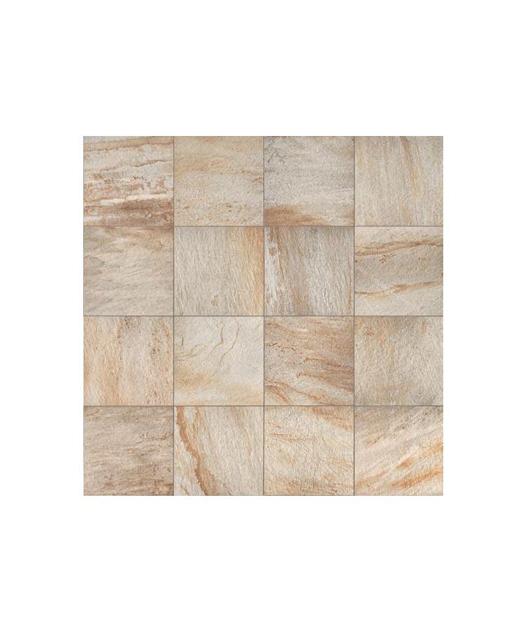 Gresie Stone D Quarzite Dorada 15x90 cm   Foto Compusa din placi de 60x60