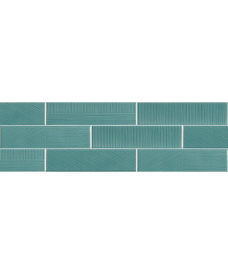 Faianta Stripebrick Emerald 7.3x30