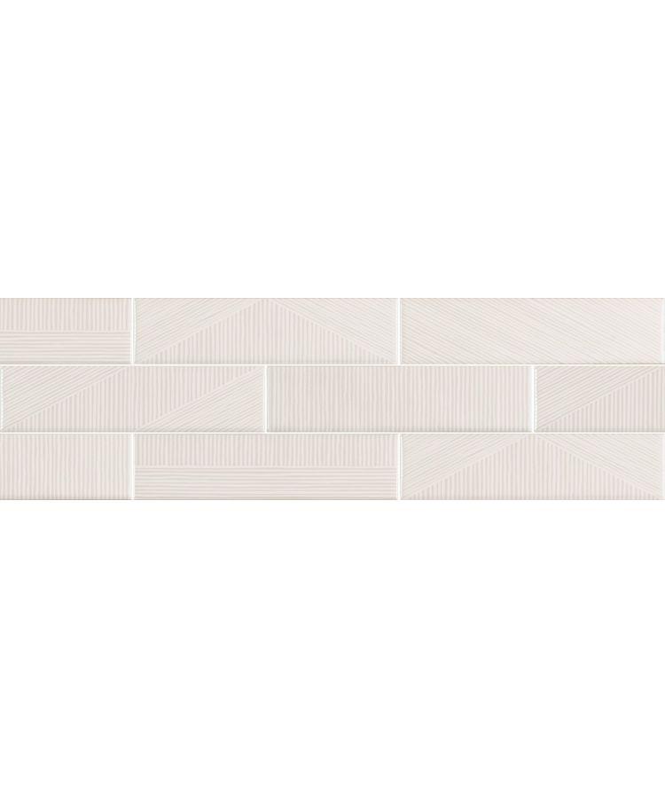 Faianta Stripebrick White 7.3x30