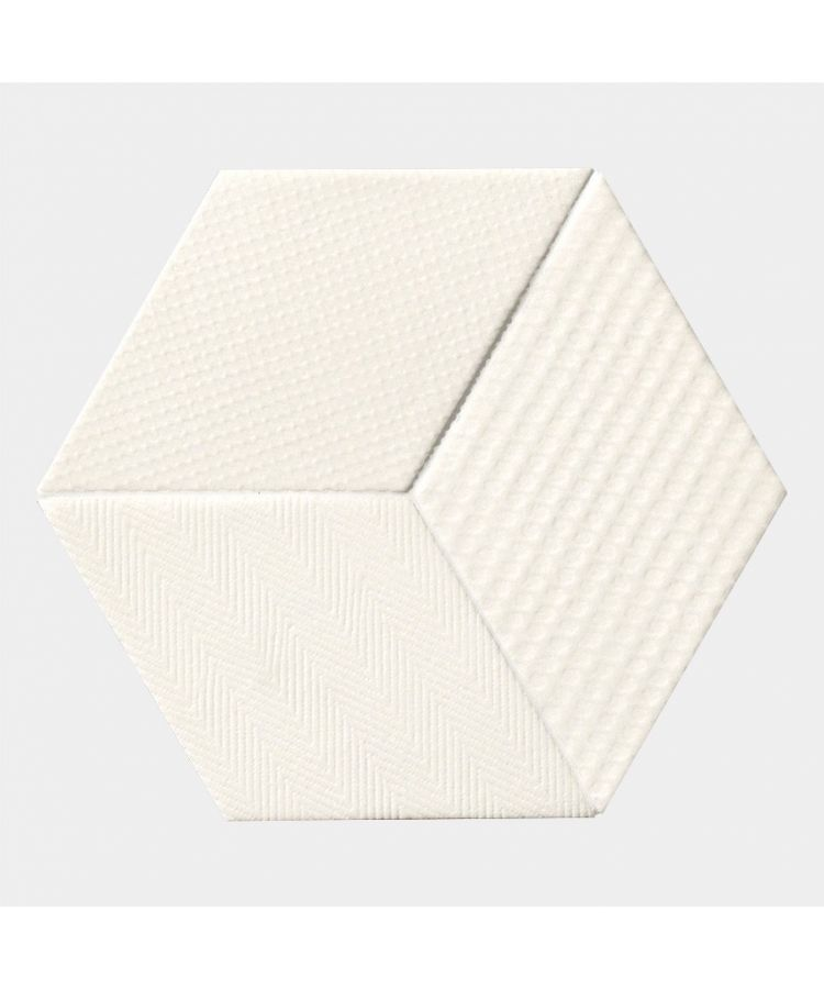 Gresie Mutina TEX by Raw Edges-White