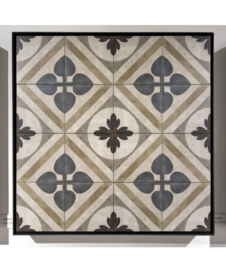 Gresie Decorata London-Whitechapel-20x20 cm