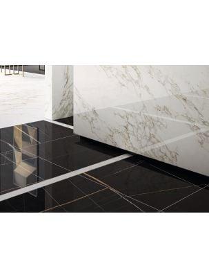 Lastra Gresie Slim 6 mm Mega Sahara Noir-160x320x0,6 cm
