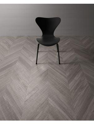 Gresie Chevron Wood Grey 9,4x49 cm