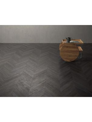 Gresie Chevron Wood Dark 9,4x49 cm