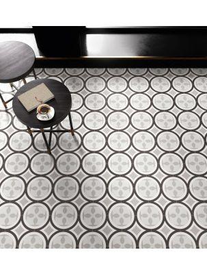 Gresie si faianta Patchwork Black&White 20x20