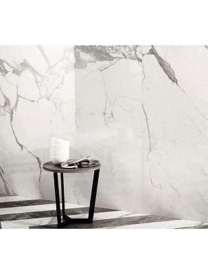 Gresie Marble Experience Statuario Lux Lapp. Sat. 60x120