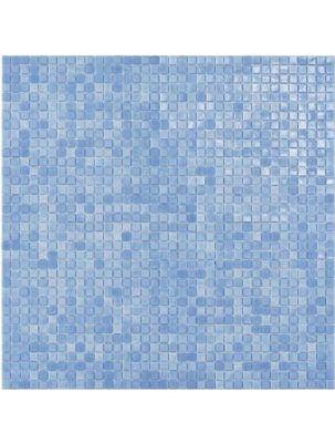 Mozaic Sticla Fenix Azul 15x15 pe plasa 30x30