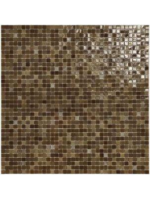 Mozaic Sticla Fenix Caramel 15x15 pe plasa 30x30