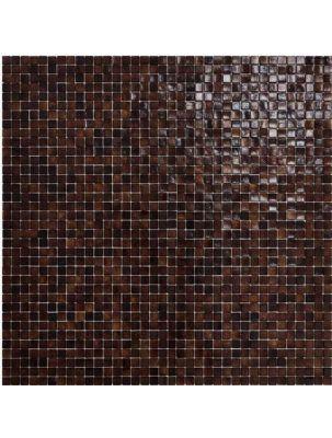 Mozaic Sticla Fenix Chinotto 15x15 pe plasa 30x30