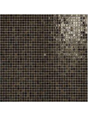 Mozaic Sticla Fenix Fango 15x15 pe plasa 30x30