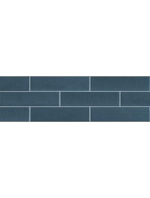 Faianta Stripebrick Blue 7.3x30